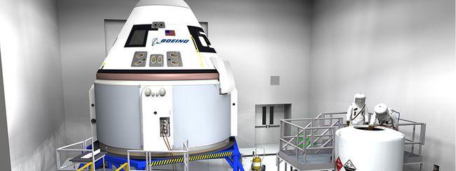 Boeing, il taxi spaziale per l'ISS solo nel 2018