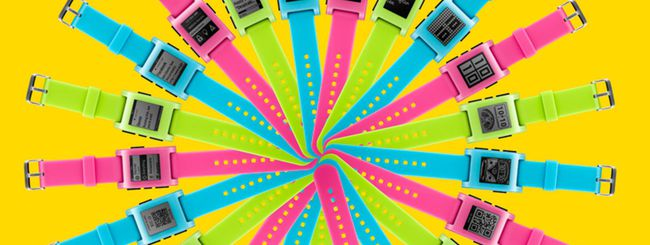 Pebble in edizione limitata con 3 nuovi colori