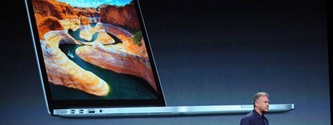 MacBook Pro, Mac Mini, iMac al keynote Apple