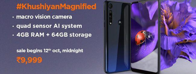 Motorola One Macro, smartphone per macrofotografia