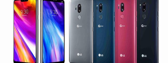 LG G7 ThinQ, iniziato il roll out di Android 9 Pie