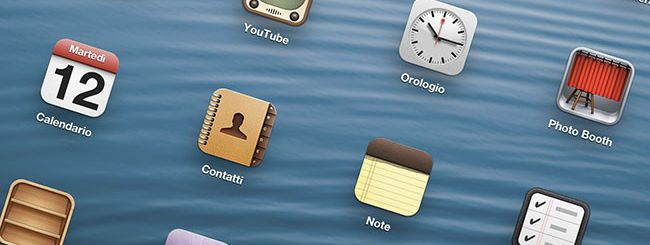 iOS 6, una schermata