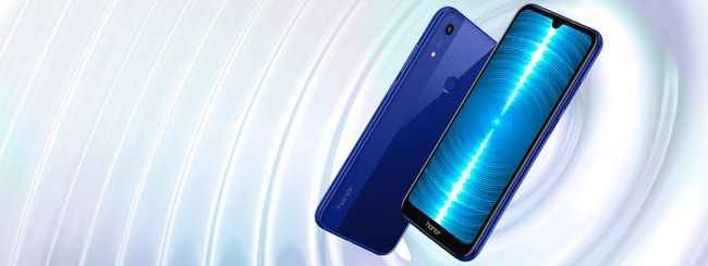 Honor 8A, schermo FullView e audio amplificato