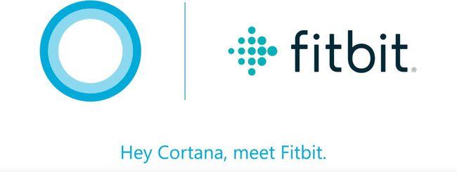 Fitbit usa Cortana per il fitness tracking