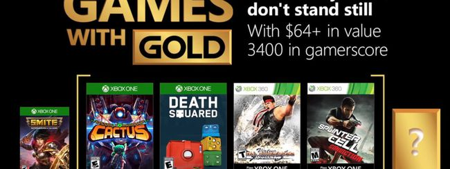 Microsoft svela i Games With Gold di luglio