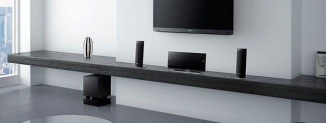 Sony amplia la gamma di lettori e sistemi Blu-ray