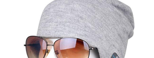 Rotibox, cappello invernale Bluetooth per la musica