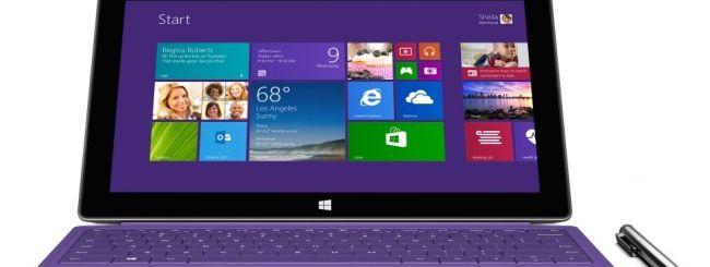 Surface Pro 2, Microsoft rimuove il firmware
