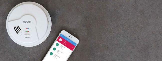 Roost Smart Smoke Alarms, rilevatore di fumo smart
