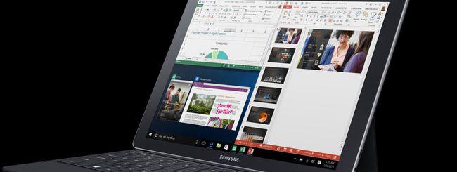 Samsung Galaxy Book, tablet con Windows 10 e LTE?
