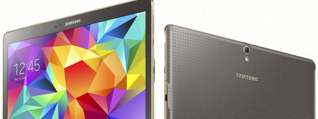 Galaxy Tab S, i tablet con display AMOLED