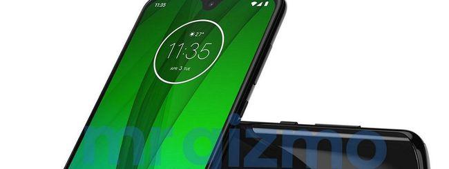 Moto G7, schermo con notch da 6 pollici? (update)