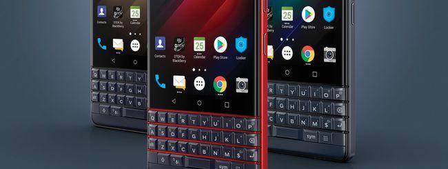 BlackBerry KEY2 LE disponibile in Italia su Amazon