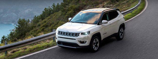 Android Auto e CarPlay sulla nuova Jeep Compass