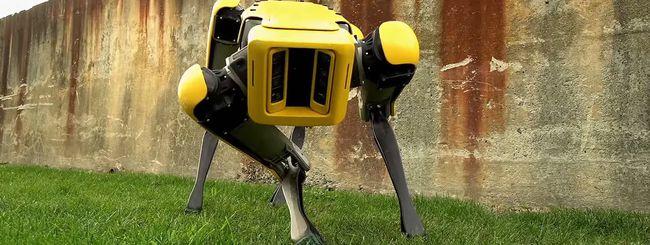 Boston Dynamics e il suo nuovo cane robot SpotMini