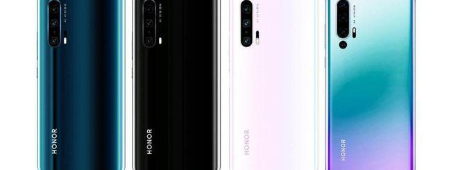 Honor 20 Pro, quattro fotocamere posteriori?