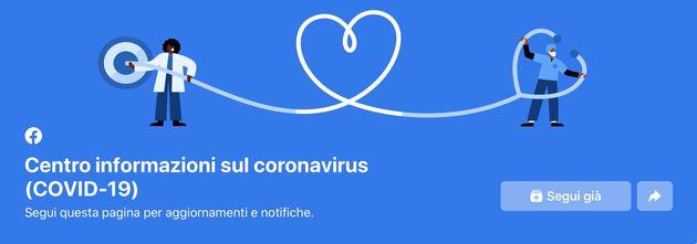 Facebook Centro COVID