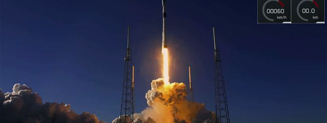 SpaceX lancia satellite GPS militare, il video