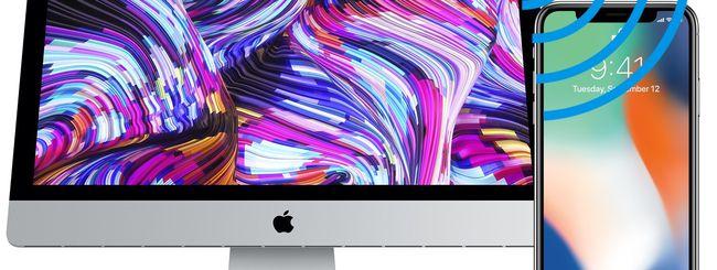 Trasformare il Mac in HotSpot WiFi per altri dispositivi