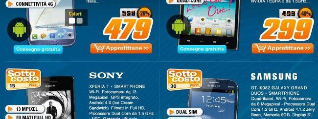 Sottocosto Saturn: BlackBerry Z10 a 549 euro