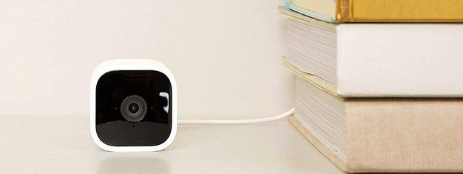 Amazon annuncia la videocamera di sicurezza Blink Mini