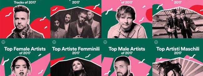 Il 2017 in musica, secondo Spotify
