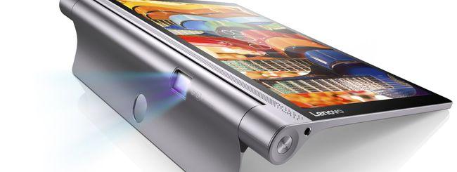 IFA 2015: Lenovo annuncia tre tablet Yoga Tab 3
