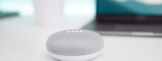 Google Home Mini, 100mila unità per i paralitici