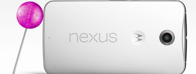 Nexus 6 è ufficiale: caratteristiche e prezzo