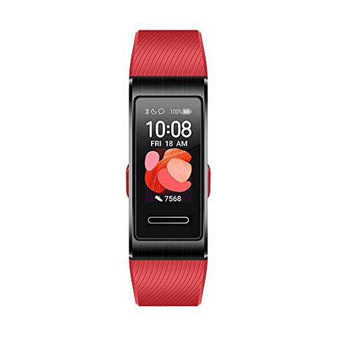 HUAWEI Band 4 Pro Smart Band Fitness Tracker (Cinnabar Red)