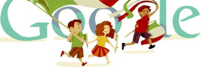 Festa della Repubblica, il doodle tricolore