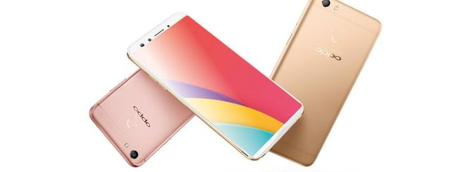 Oppo F5, smartphone con display 18:9 in arrivo