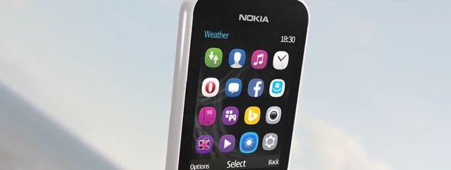 Nokia 222, connettività web per tutti