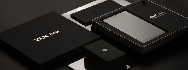 ZUK Edge: schermo curvo e Snapdragon 821