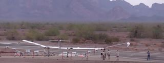 Il drone Airbus Zephyr S a energia solare