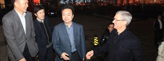Tim Cook in Cina, forse per il lancio di iPhone 5C