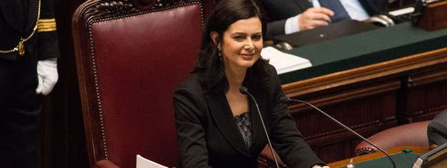 Laura Boldrini: le paure del www