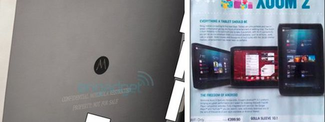 Motorola Xoom 2 entro Natale a 399 euro?