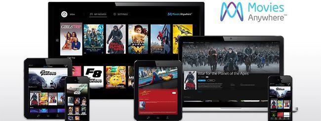 Microsoft con Movies Anywhere su Windows 10 e Xbox (update)