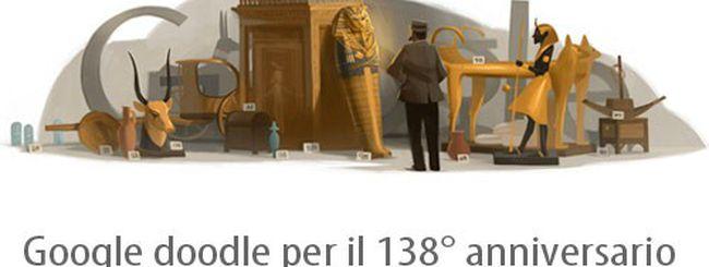 Howard Carter, un Google doodle dall'antico Egitto