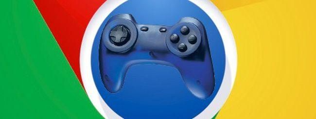 Chrome supporta i joypad e punta al gaming