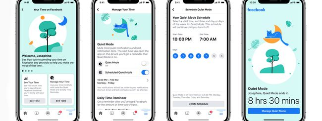 Facebook introduce la Modalità Silenziosa