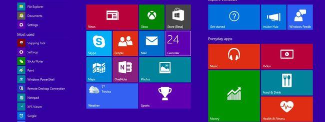Windows 10: hands-on della build 9926