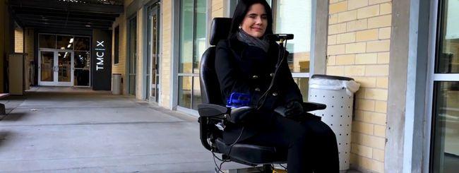 Wheelie 7, l'IA di Intel che aiuta i tetraplegici