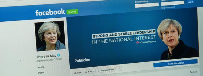 Facebook, nessuna influenza russa sulla Brexit