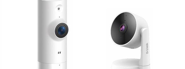 D-Link, due nuove videocamere per la sorveglianza