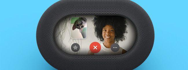HomePod FaceTime, in arrivo la versione con schermo