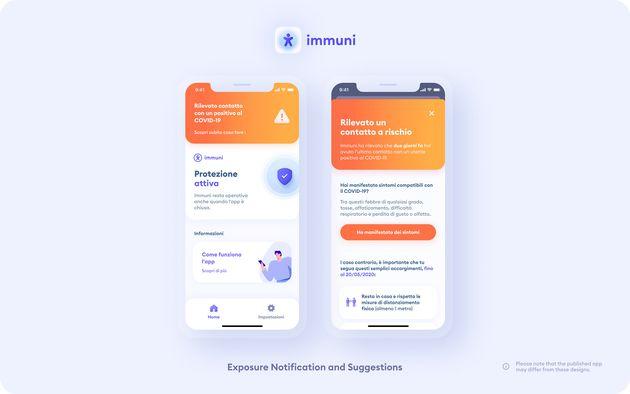 Come funziona l'app Immuni
