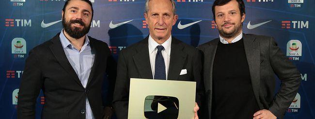 Calcio: grande successo per la Serie A su YouTube