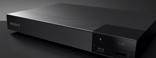 Sony BDP-S6500, lettore BD con upscaling 4K e WiFi